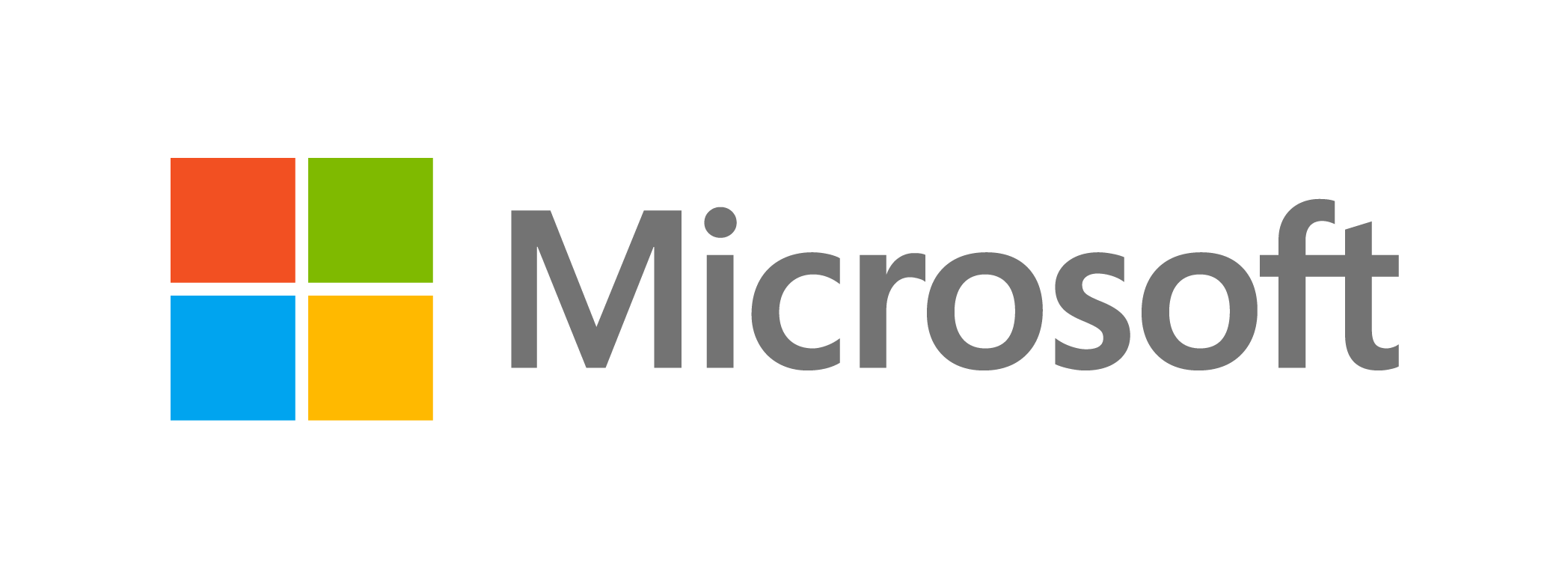 MSFT logo png grey